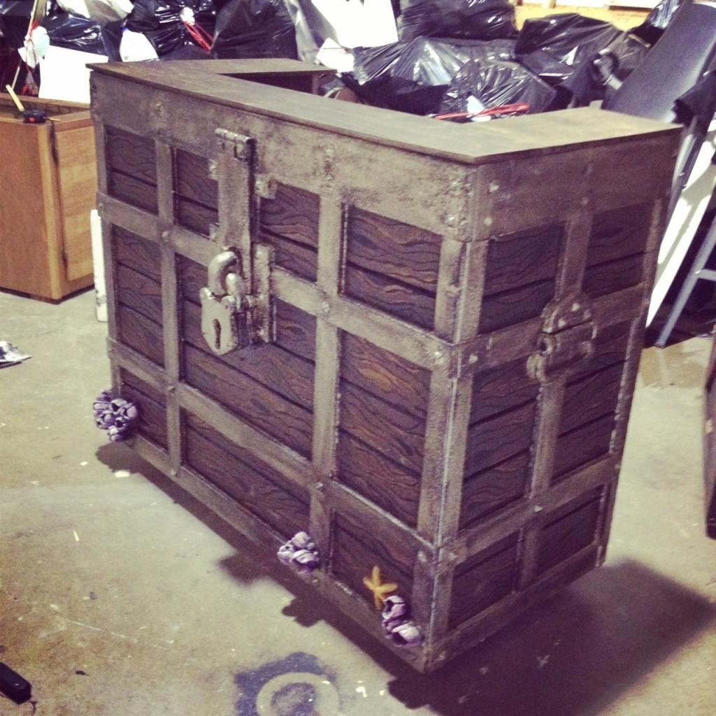 """""""Treasure Check-In Desk"""""""