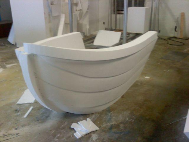 foam boat prop
