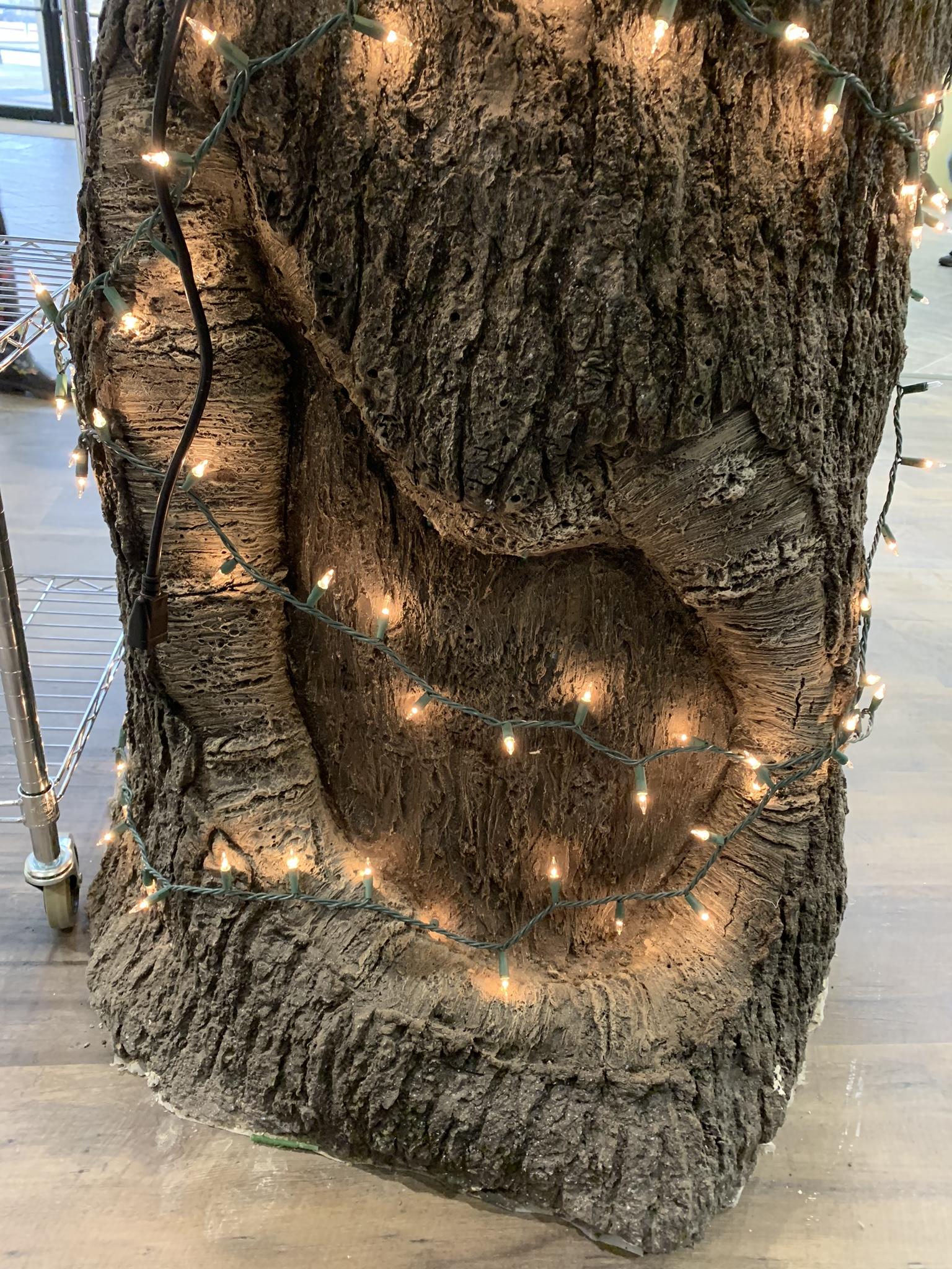 Amazing faux tree